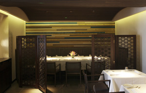 Quilon_Semi-private dining area